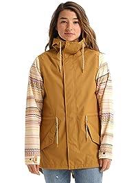 Burton Women's Sadie Rain Jacket, Bandota, Large
