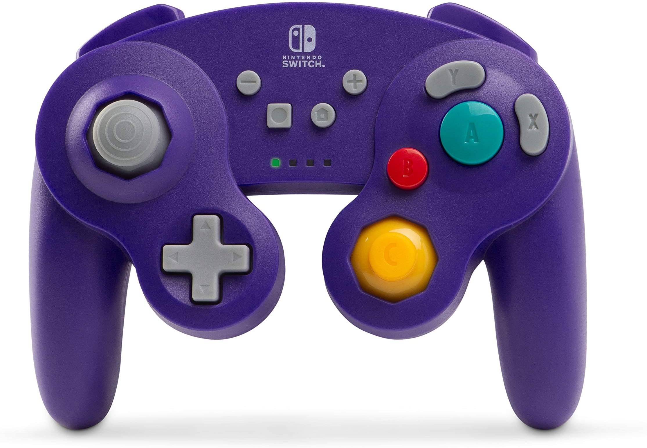 Control Para Nintendo Switch Version Gamecube Purpura (xmp)