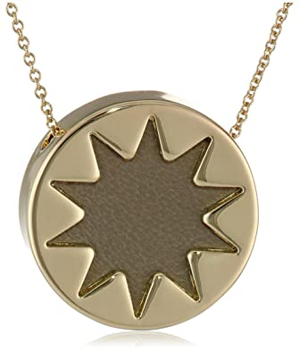 Amazon house of harlow 1960 khaki mini sunburst pendant house of harlow 1960 khaki mini sunburst pendant necklace 18quot aloadofball Images