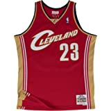 LeBron James Cleveland Cavaliers Mitchell & Ness Swingman Jersey Red
