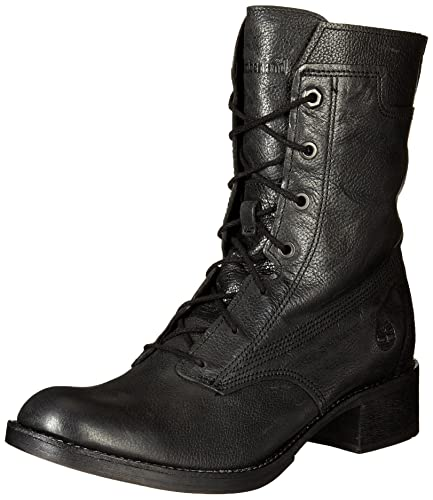 Whittemore Mid Lace Timberland- Jet Black Woodlands boots