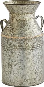 Amazon Brand – Stone & Beam Vintage Textured Milk Planter, 18