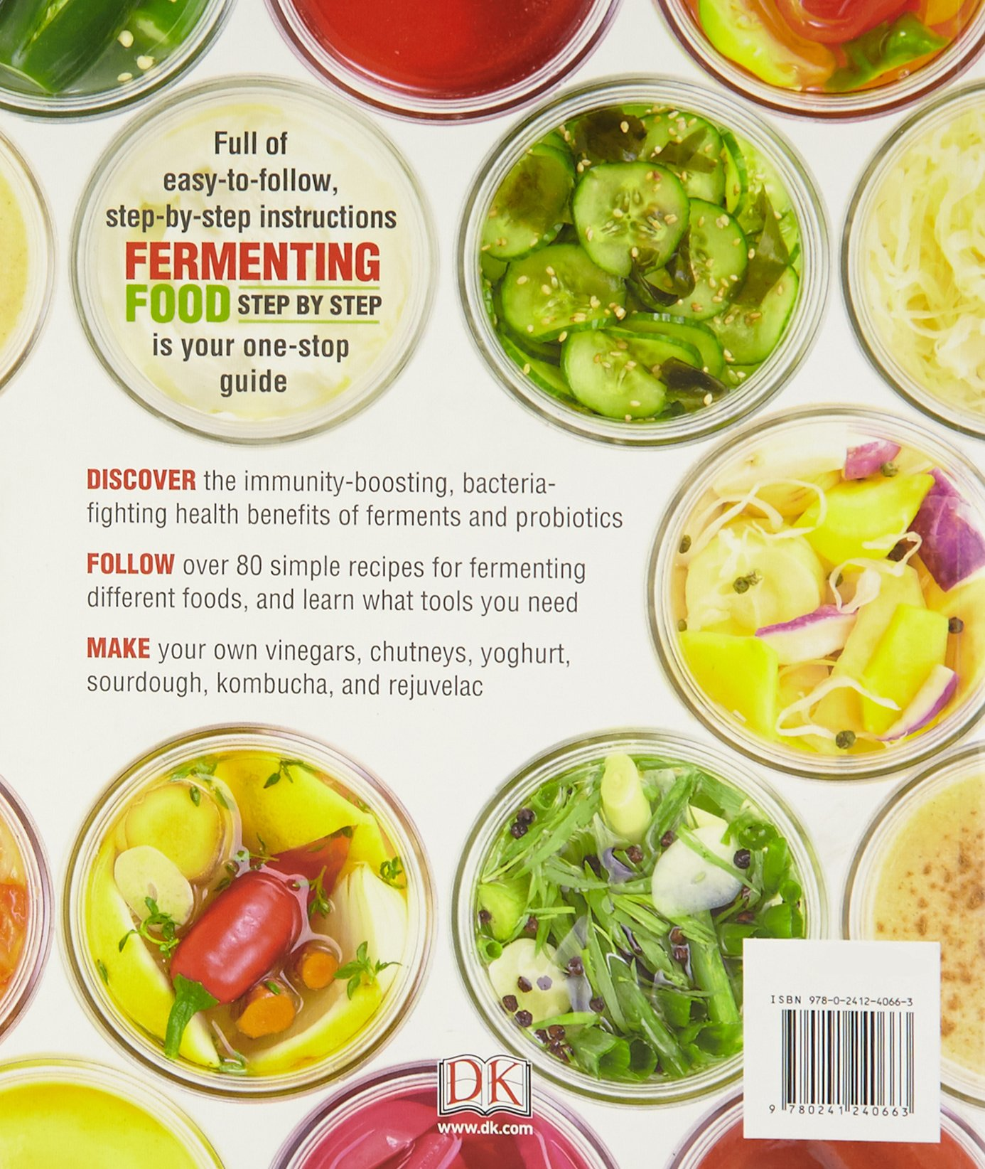 Fermenting Foods Step By Make Your Own Health Boosting Ferments And Probiotics Amazoncouk Adam Elabd 9780241240663 Books