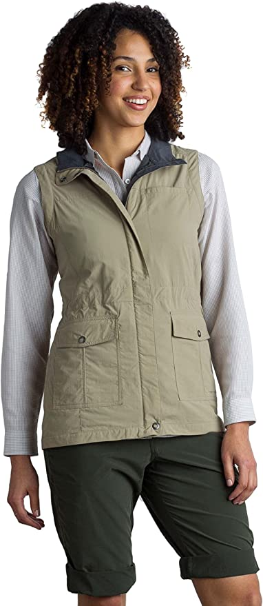Women/'s Exofficio FlyQ Lite Travel Vest Choose Size /& Color