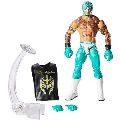 WWE - Elite Figura de acción luchador Rey Mysterio con accesorios de lucha Juguetes niños +8 años (Mattel GCL54): Juguetes y juegos