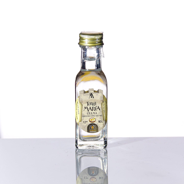Botellita Miniatura de Licor de Aguardiente de Orujo Torre María | botella Marasca 2cl.: Amazon.es: Alimentación y bebidas