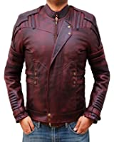 Chris Red Galaxy Vol 2 Leather Jacket ► BEST SELLER ◄
