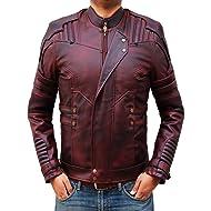 Decrum Star Lord Mens Leather Jacket - Biker Jacket Men