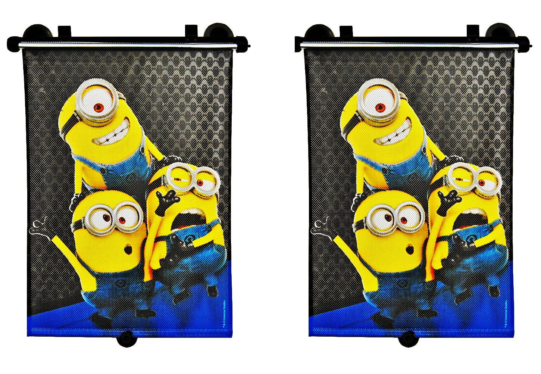 Auto-Sonnenrollo Minions Doppelpack Sonnenschutz Minion KFZ Rollo