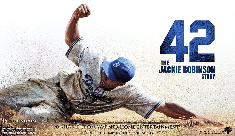 633a8c2bb Amazon.com: 42: The Jackie Robinson Story: Brian Helgeland, Dick ...