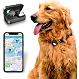 PetFon Pet GPS Tracker, No Monthly Fee, Real-Time Tracking Collar Device, APP Control for Dogs and Pets Activity Monitor…