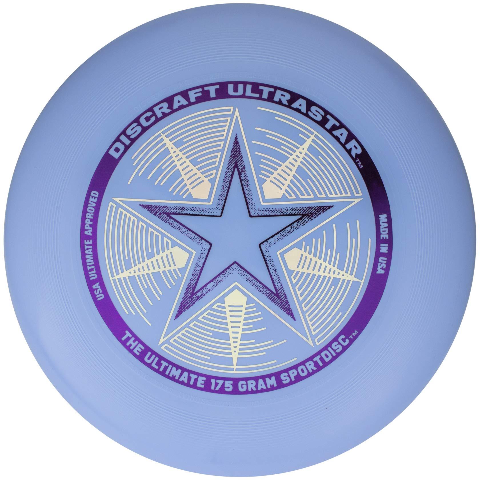 Discraft 175 gram Ultra Star Sport Disc, Light Blue by Discraft