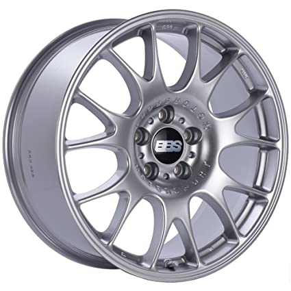 Amazon.com: BBS CH Diamond Silver Wheel with Painted Finish (17 x 8.5 inches /5 x 120 mm, 15 mm Offset): Automotive