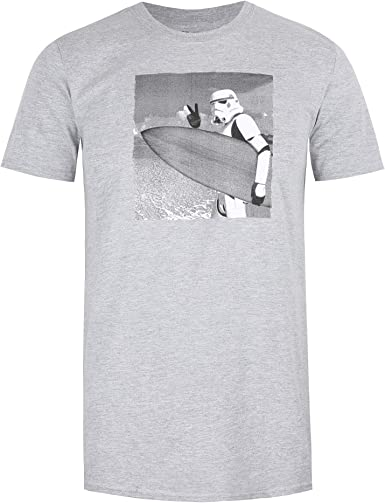Star Wars Trooper Surf Camiseta para Hombre: Amazon.es: Ropa y accesorios