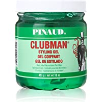 Clubman Pinaud Styling Hair Gel - Specially Formulated For Men, 16 oz/453 g