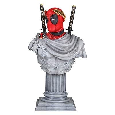MARVEL Deadpool Caesar Classic Mini Bust Statue: Toys & Games