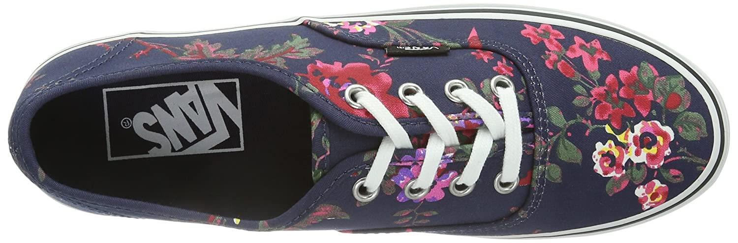 vans authentic platform floral