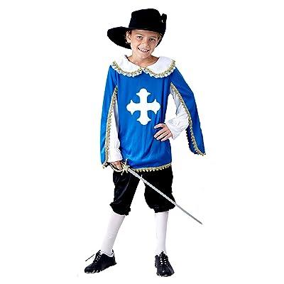 Mousquetaire enfants Age Fancy Dress Costume 7-9 [Jouet]