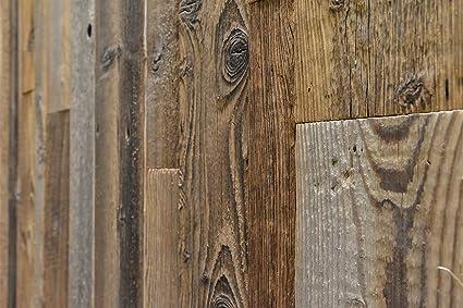 0,8 m2 Cubierta de pared de madera 3D Barnwood Wall Montreal