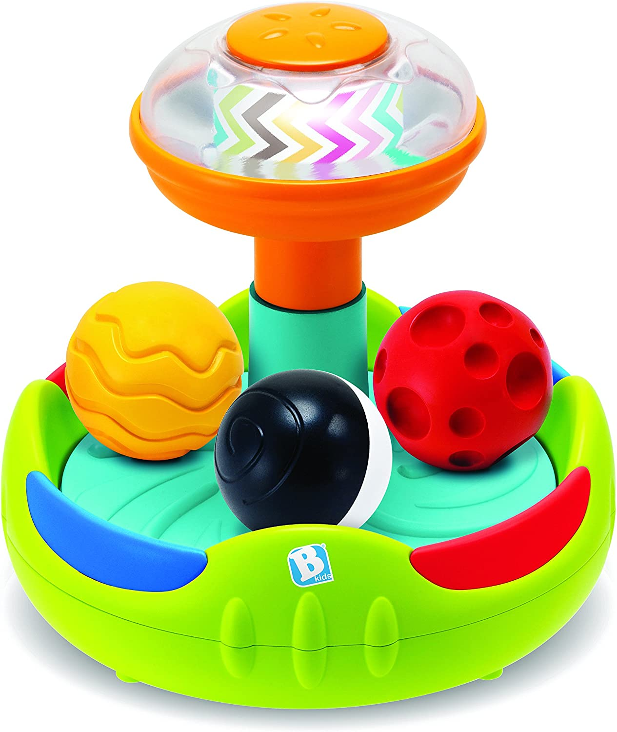 Infantino- Senso Spinning Ball Top, Color Chocolate (005353 ...