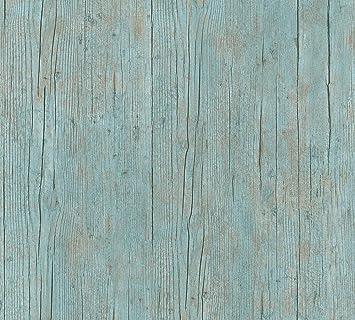 A S Creation Vliestapete Authentic Walls 2 Tapete In Maritimer Vintage Holz Optik Fotorealistische Holztapete 10 05 M X 0 53 M Blau Grun Braun Made In Germany 364871 36487 1 Amazon De Baumarkt