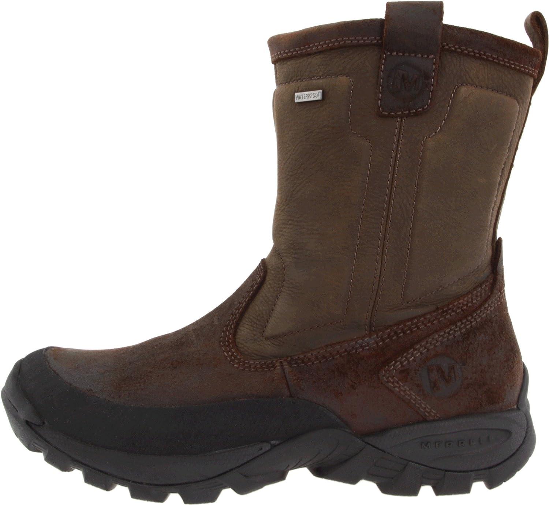 ab4cbf9c Amazon.com | Merrell Men's Bergenz Waterproof Winter Boot | Snow Boots