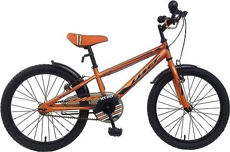 Umit Bicicleta 20 Pulgadas XT20, Unisex niños, Naranja: Amazon.es: Deportes y aire libre