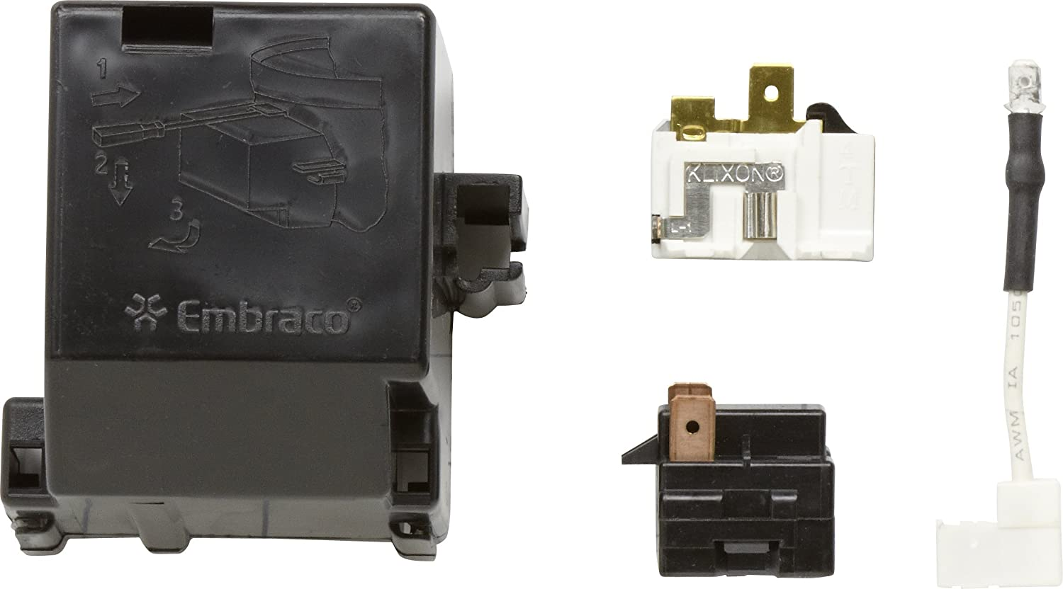 Whirlpool 12002782 Relay and Overload