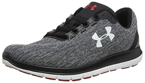 67331757719db Under Armour Men s Ua Remix Competition Running Shoes Black Steel White  006