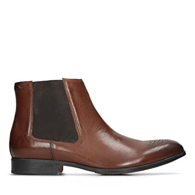 6fe420f4f68 Clarks Gilmore Chelsea Leather Boots in Brown  Amazon.co.uk  Shoes ...