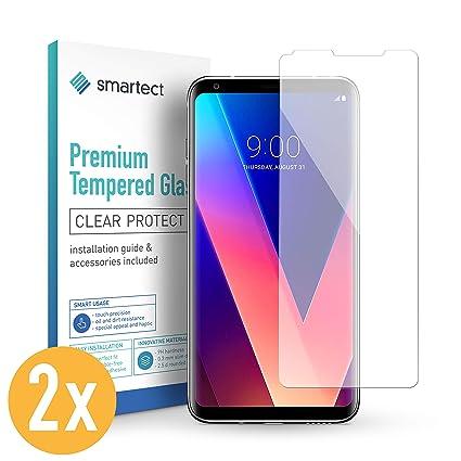 smartect Protector de Pantalla para LG V30 [2 Unidades]: Amazon.es ...