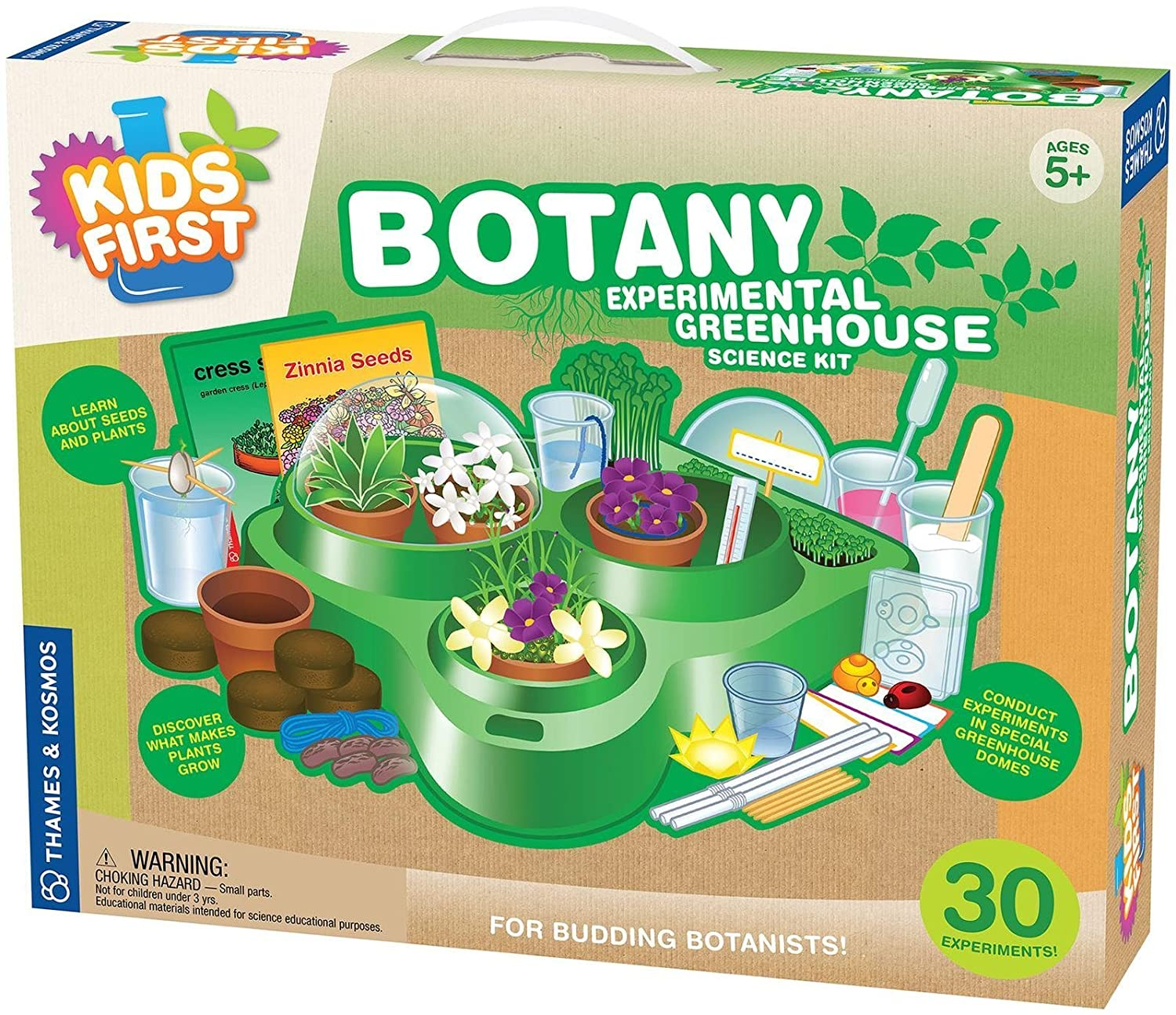 Amazon Kids First Botany Experimental Greenhouse Kit Toys