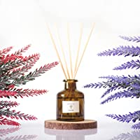 PRISTINE Lavender Reed Diffuser Set | Reed Oil Diffuser Sticks, 1.6oz | Aromatherapy as a means for Insomnia…
