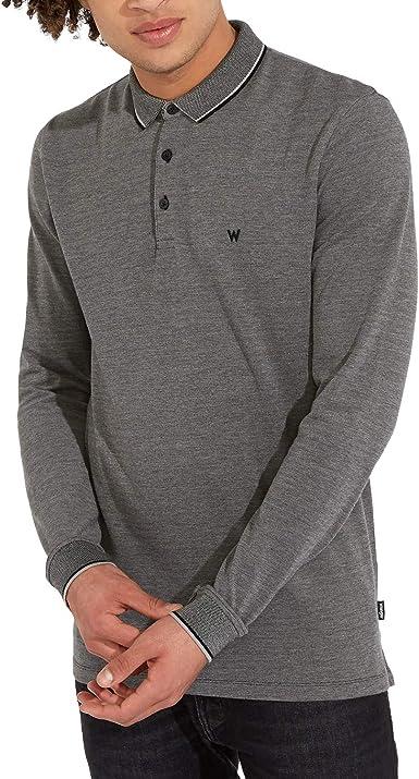 Wrangler LS Refined Polo Camisa Manga Larga para Hombre