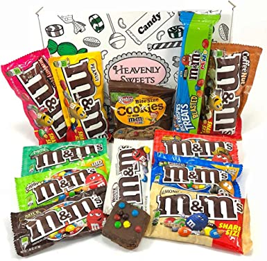 Gran Cesta Americana M&M | Chocolate y Caramelo | Golosinas para ...