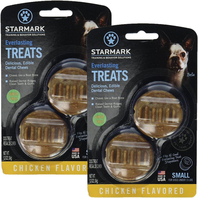 StarMark 2 Pack Everlasting Treat, Chicken Flavor, Small