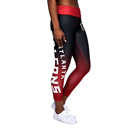 49ae047c58e43 Forever Collectibles Atlanta Falcons Gradient 2.0 Wordmark Legging - Womens  Small