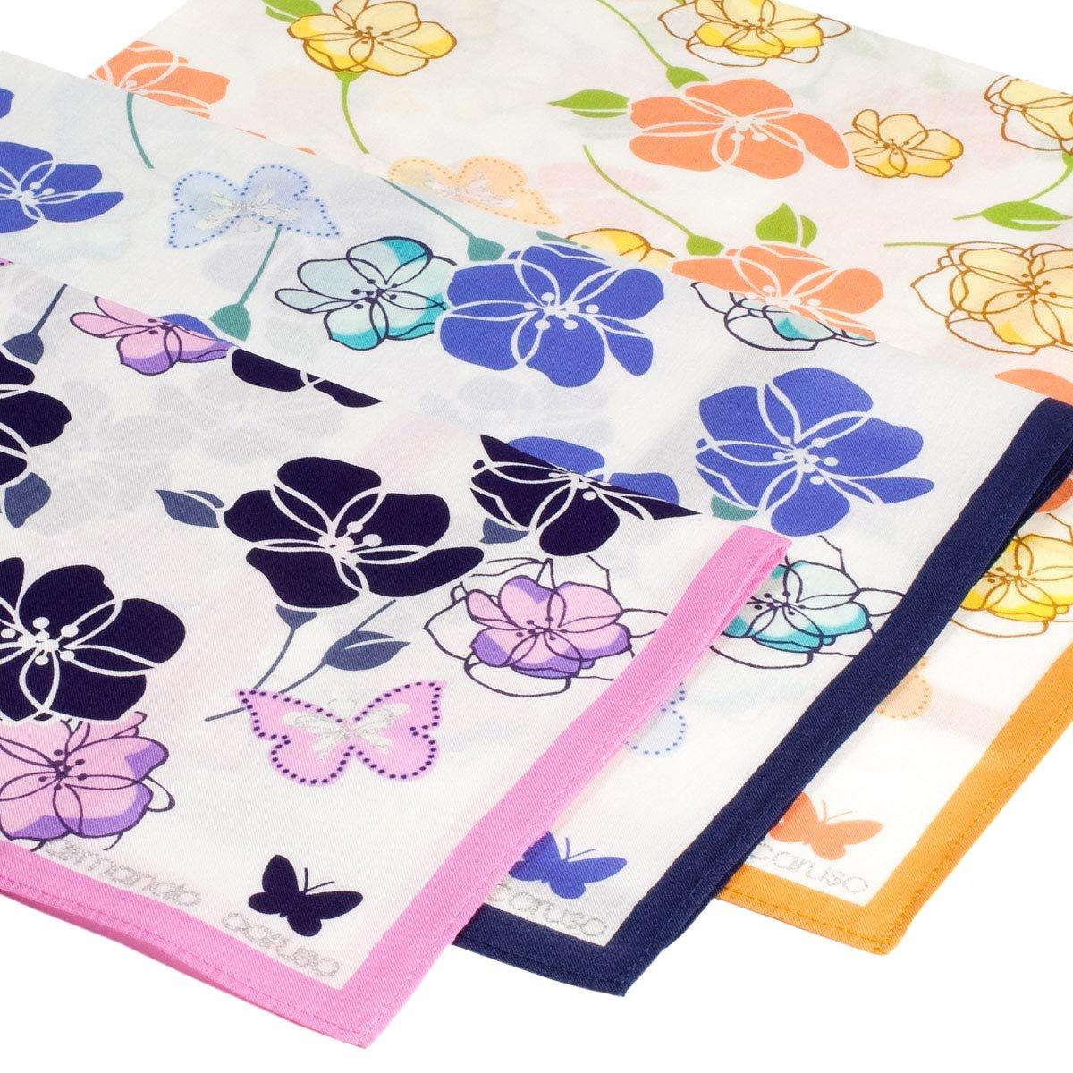 'Florilè ge' printed handkerchiefs - 3 units Armando Caruso