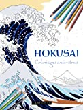 Hokusai : Coloriages anti-stress