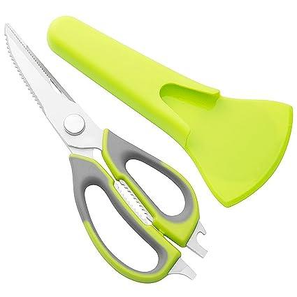halete kitchen shears best kitchen scissors for poultry seafood scallop herb - Best Kitchen Scissors