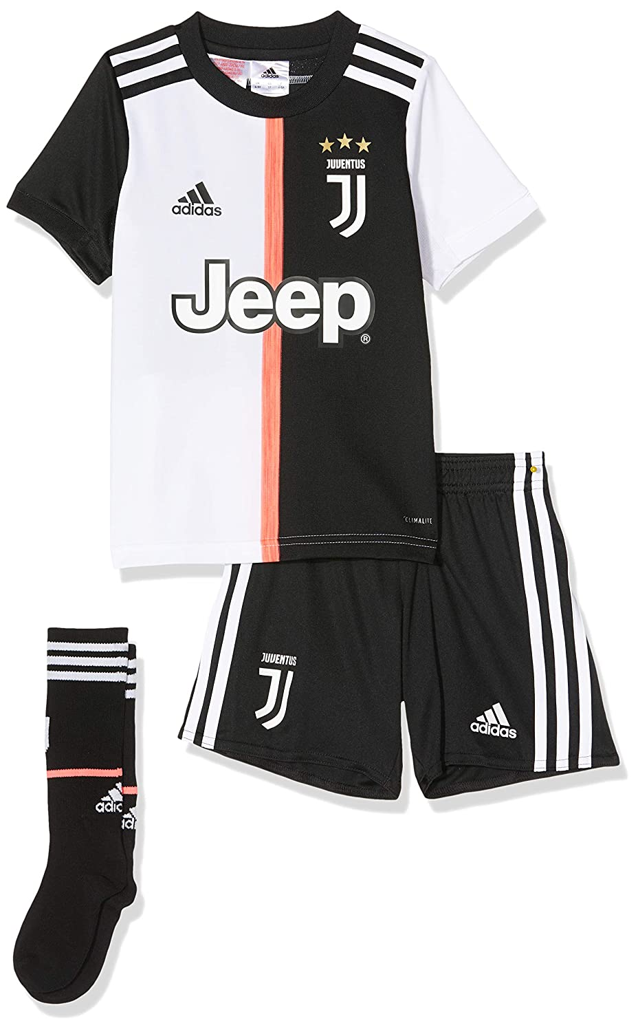 Amazon.com: adidas Juventus Littleboys Junior Home Kit 2019 ...
