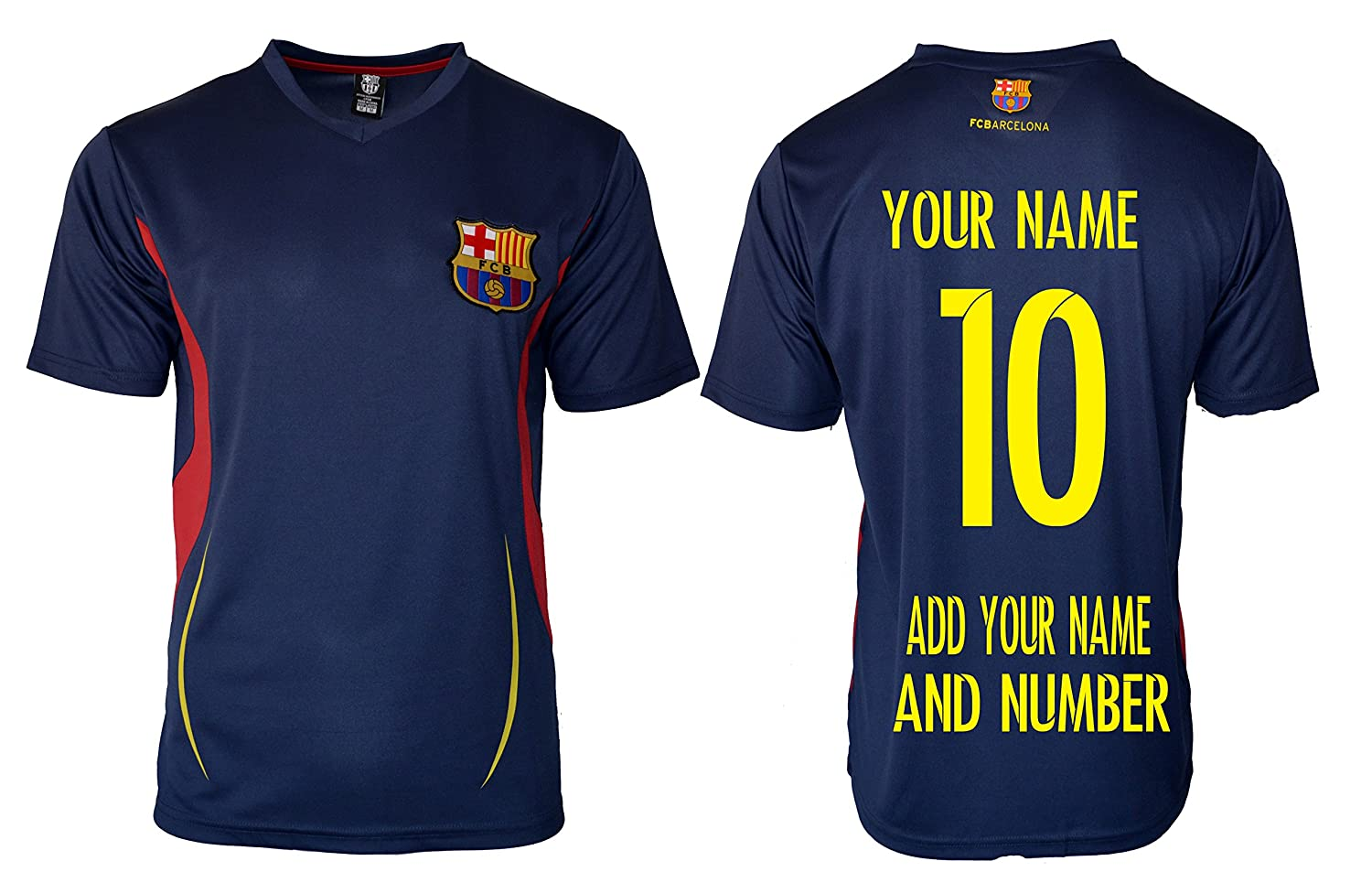 on sale 80844 9a0cd FC Barcelona Soccer Jersey Men's Adult Training Performance ...