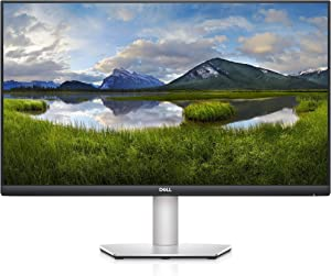 Dell S2721QS 27 Inch 4K UHD (3840 x 2160) IPS Ultra-Thin Bezel Monitor, AMD FreeSync (HDMI, DisplayPort), VESA Certified, Silver (Renewed)