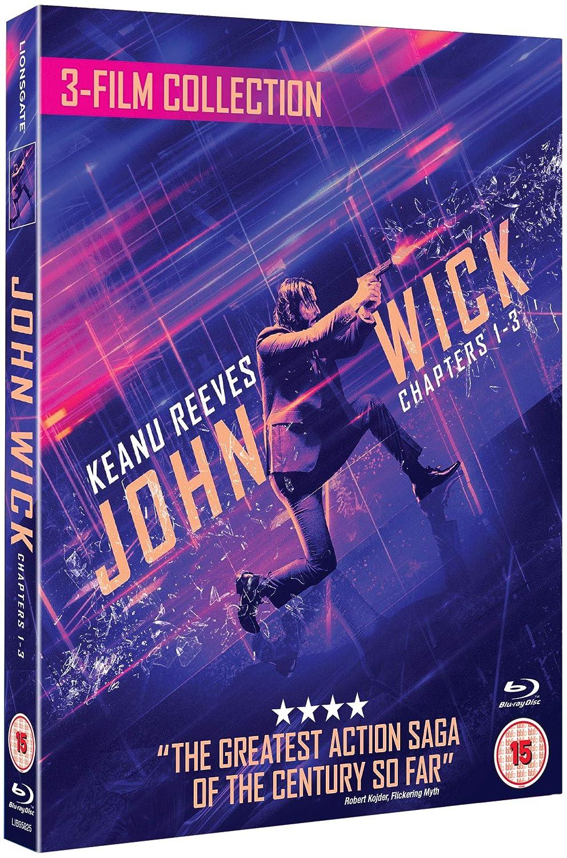 John Wick 1/2/3 Triple Boxset 3 Blu-Ray Edizione: Regno Unito Italia Blu-ray: Amazon.es: Keanu Reeves, Halle Berry, Ian McShane, Laurence Fishburne, Mark Dacascos, Asia Kate Dillon, Lance Reddick, Tobias Segal, Anjelica Huston,