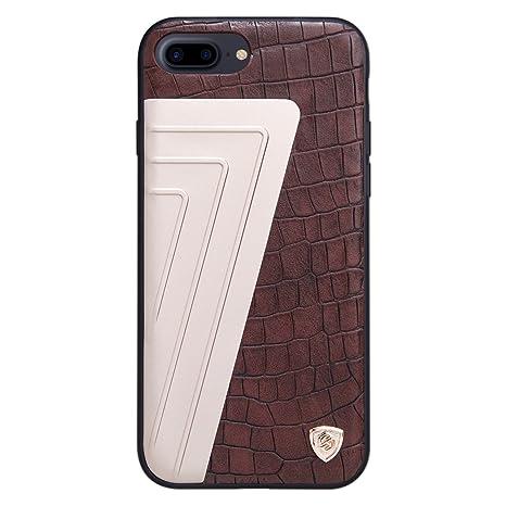 custodia apple iphone 7 plus marrone
