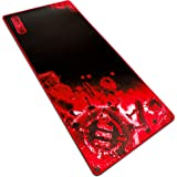 "ENHANCE Pathogen MP2 - ENGXMP2100RDEW Extended Mouse Pad with Anti-Fray Stitching for Professional eSports (31.5"" x 13.75"") - Red"