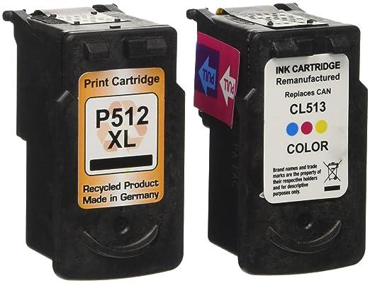 38 opinioni per Prestige Cartridge PG-512/CL-513- 2 Cartucce d'Inchiostro Compatibile per
