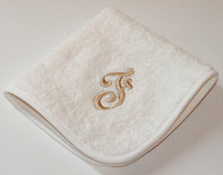 Bordados Fiorentini Idea regalo toallas con bordado inicial algodón 100% Made in Italy: Amazon.es: Hogar