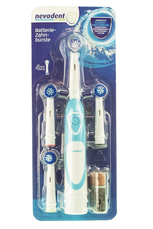 nevadent batería Cepillo de dientes nzb 3 C1 Azul: Amazon.es: Salud y cuidado personal