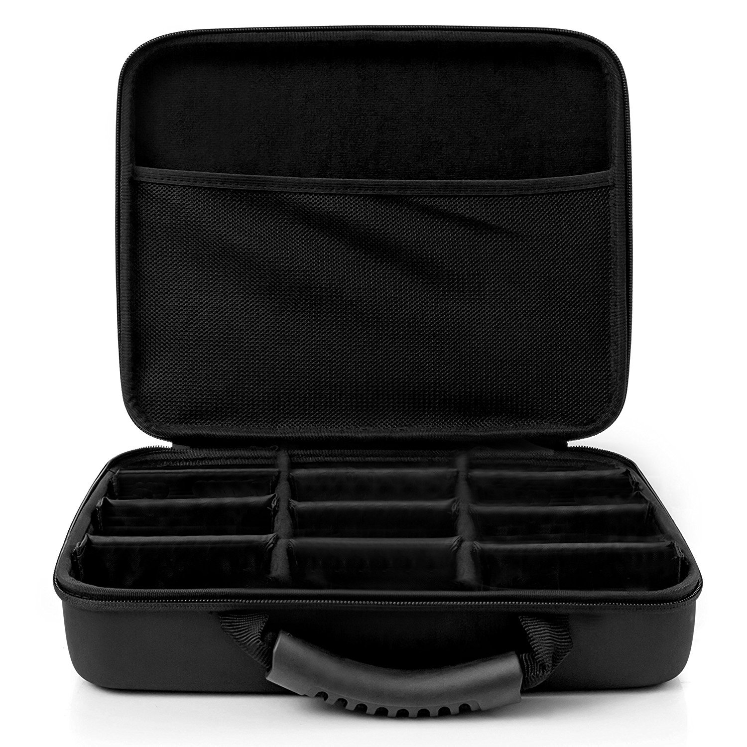 Portable Card Game Case for 2,200+ Cards. Compatible with Cards Against Humanity, MTG, Pokemon & More! (Extra Large) by CaseStache (Image #6)